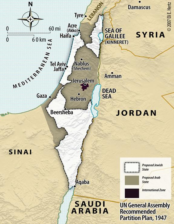 Map Of Palestine In The Time Of Christ. Map: The Recommendation to